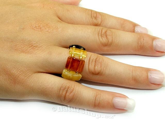 Jantar prsten mix