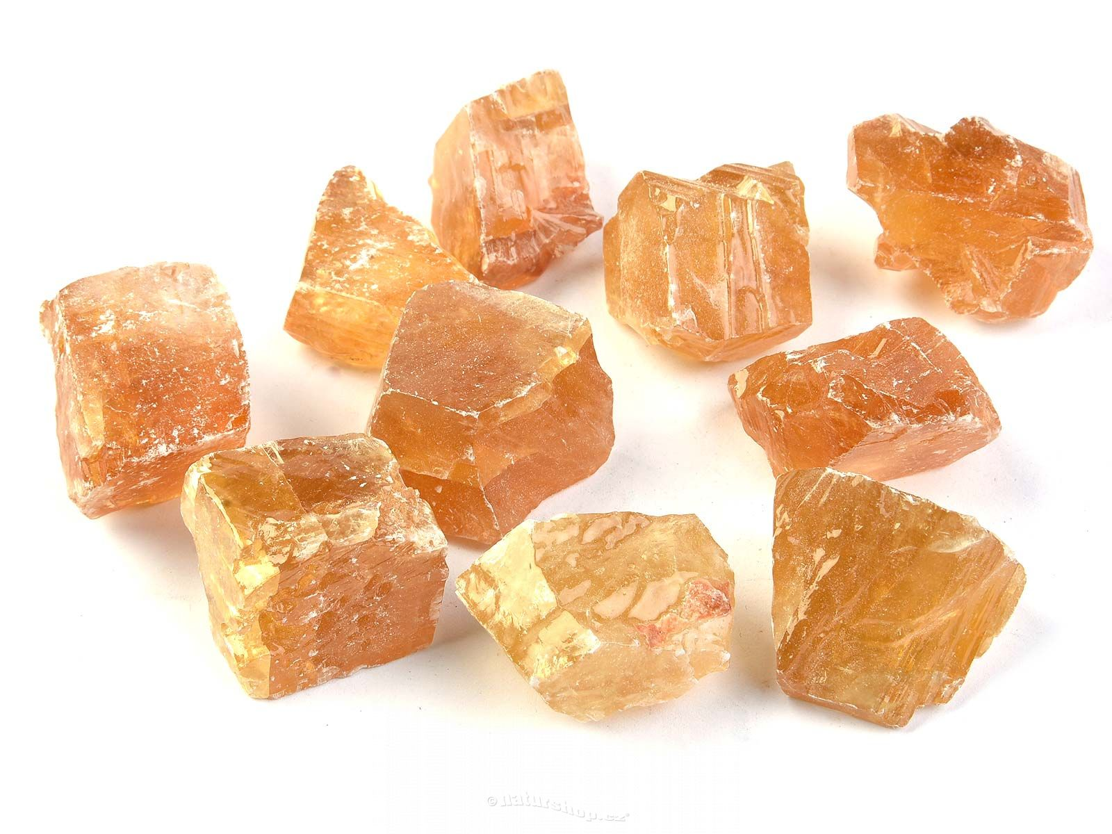 Calcite Raw Gold