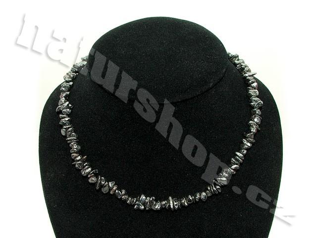 Hematit náhrdelník (45cm)