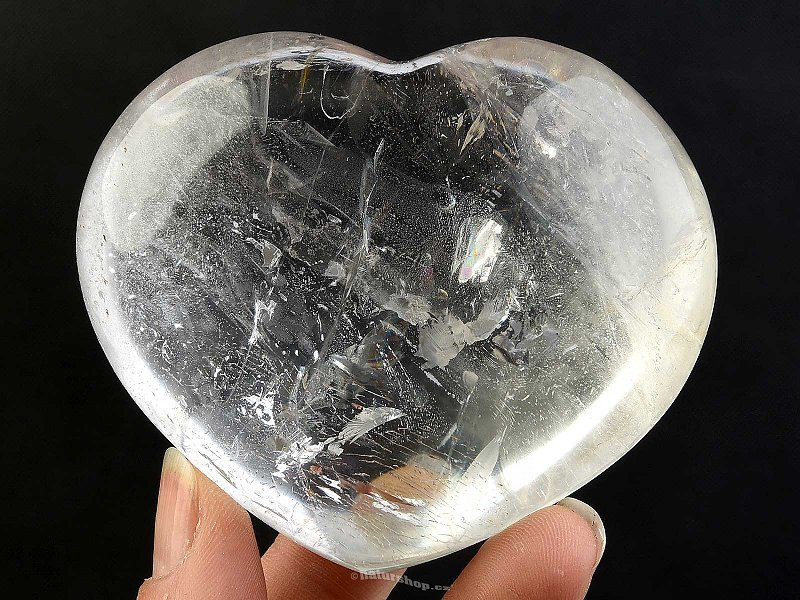 Crystal smooth heart extra QA (287g)