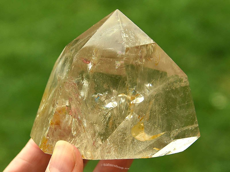 Crystal with Inclusions Spike Cut (382g)