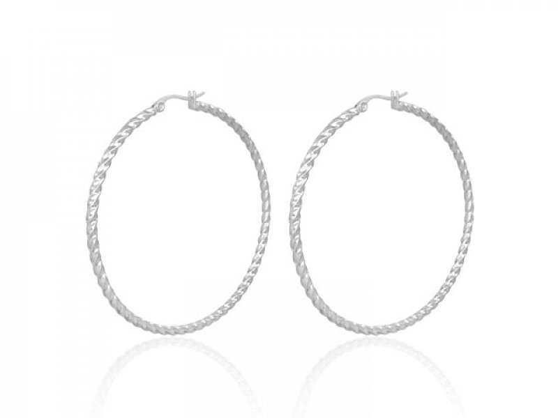 Earrings rings Stainless steel GEO098