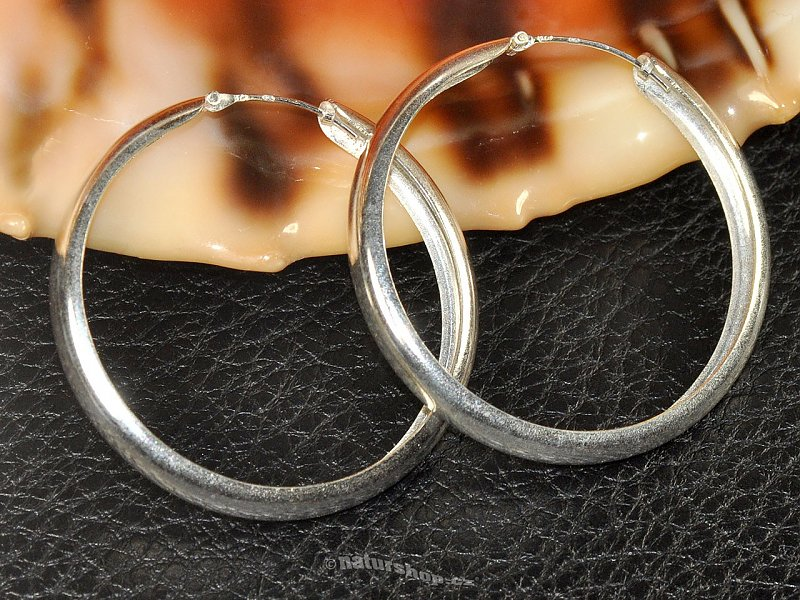 Strong rings silver 925/1000 45 mm