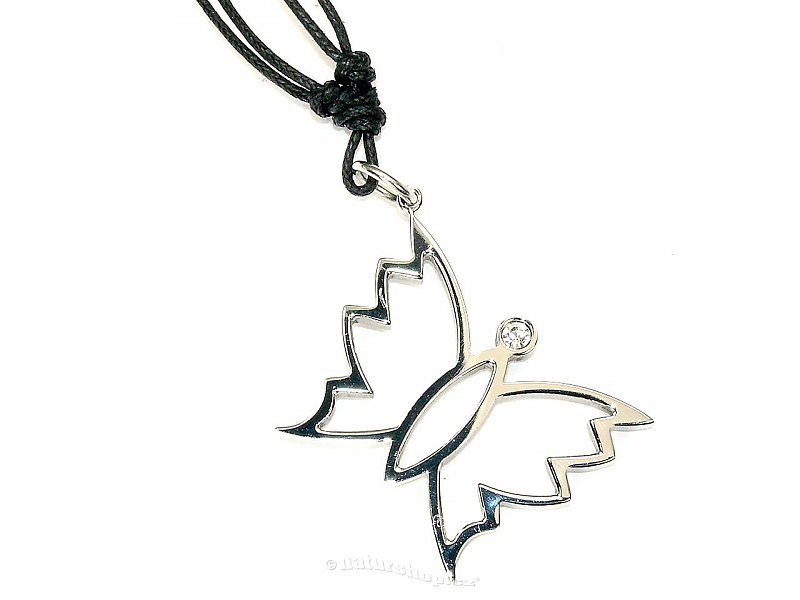 Surgical steel - pendant butterfly typ076
