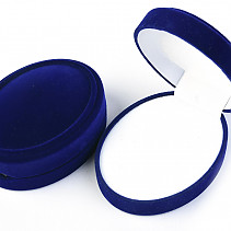 Gift Box Blue Oval 8.3 x 6.4 cm