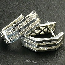 Ag 925/1000 silver earrings typ064