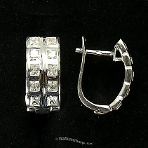 Ag 925/1000 silver earrings typ066