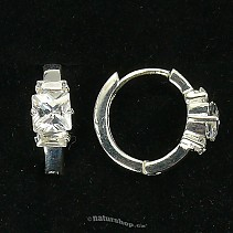Ag 925/1000 silver earrings typ068