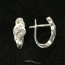 Ag 925/1000 silver earrings typ069