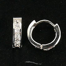 Ag 925/1000 silver earrings typ070