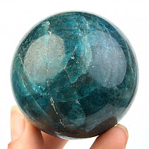 Blue apatite ball (Madagascar) Ø 55mm