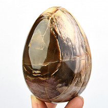 Petrified wood egg jumbo (Madagascar) 443g