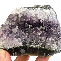 Selective drusen made of amethyst 475g