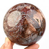 Petrified wood ball Ø 78mm