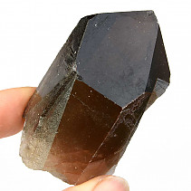 Smoky quartz crystal morion 79g