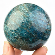 Blue Apatite Ball (Madagascar) Ø 56mm