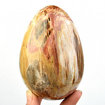 Petrified wood egg jumbo (Madagascar) 858g