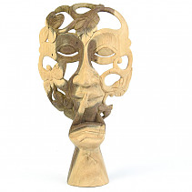 Wood mask (Indonesia) 25cm (typ460)