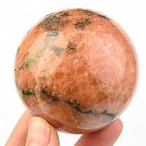 Calcite sphere orange (Madagascar) Ø61mm