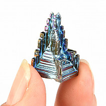 Bismuth raw crystal colored 6,3g