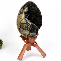 Dragon egg jumbo septaria (Madagascar) 11kg + stand