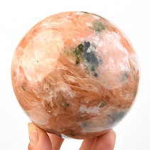 Calcite sphere orange (Madagascar) Ø88mm