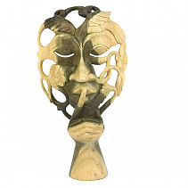 Wooden mask (Indonesia) 24,5cm (typ459)