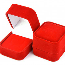 Gift velvet box red 5 x 4.6cm