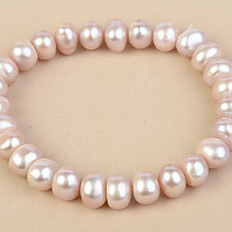 Pearls bracelet pink buttonsy