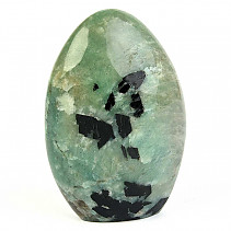 Decorative amazonite + tourmaline 612g