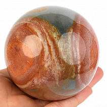 Jasper variegated ball Madagascar 563g
