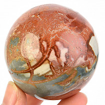 Ball jasper variegated Ø 53mm (Madagascar)