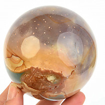 Ball jasper variegated Ø 82mm (Madagascar)