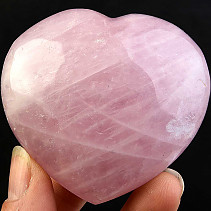 Heart of love rose quartz 165g