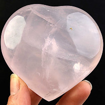 Heart of love rose quartz 267g