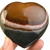Jasper imperial polished heart 193g