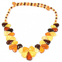 Exclusive amber necklace 51cm 19.55g