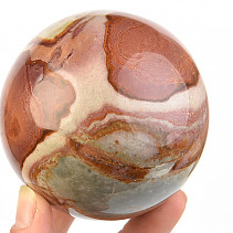Ball jasper variegated Ø 79mm 632g