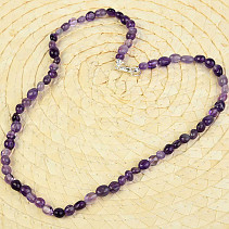 Amethyst extra necklace troml 50cm