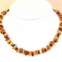 Amber necklace 39cm