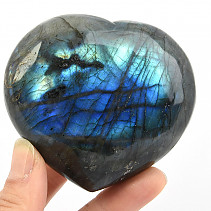 Labradorite smooth heart 248g
