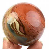 Ball jasper variegated Ø 50mm Madagascar 164g