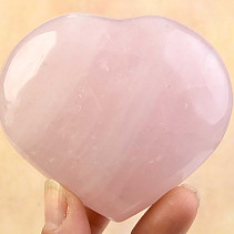 Rose quartz heart 264g