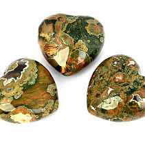 Rhyolite heart 45mm