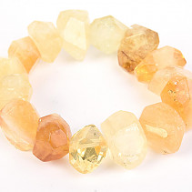 Bracelet citrine larger puzzle pieces