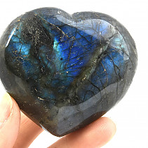 Labradorite smooth heart 223g