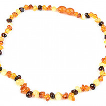 Amber Boulders Necklace 36cm (Baby Size)