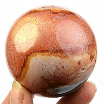 Ball jasper variegated Ø 57mm Madagascar 259g