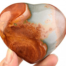 Jasper imperial polished heart 185g