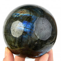 Smooth labradorite ball Ø 80mm